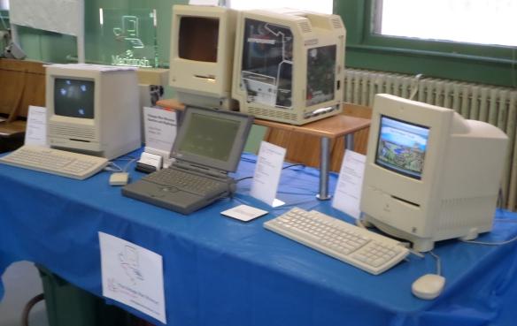 Vintage Mac Museum's Exhibit