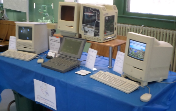 Vintage Mac Museum's Exhibit